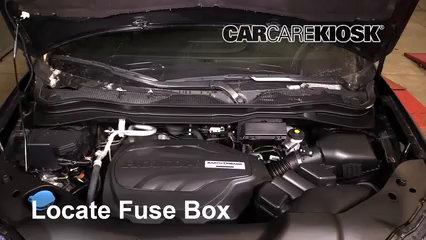 2019 Honda Passport Elite 3.5L V6 Fuse (Engine) Replace