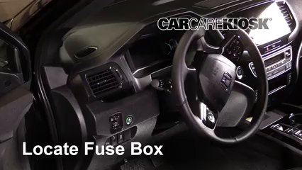 2019 Honda Passport Elite 3.5L V6 Fuse (Interior) Check