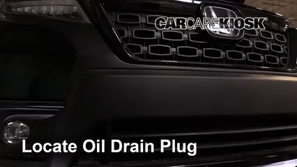 2019 Honda Passport Elite 3.5L V6 Oil Change Oil and Oil Filter