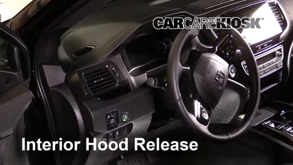 2019 Honda Passport Elite 3.5L V6 Capó