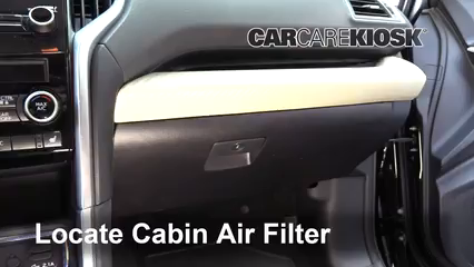 2019 Subaru Ascent Premium 2.4L 4 Cyl. Turbo Air Filter (Cabin)