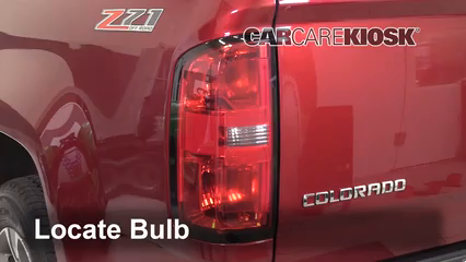 2019 Chevrolet Colorado Z71 2.8L 4 Cyl. Turbo Diesel Crew Cab Pickup Lights Tail Light (replace bulb)