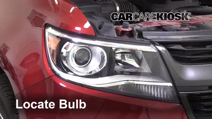 2019 Chevrolet Colorado Z71 2.8L 4 Cyl. Turbo Diesel Crew Cab Pickup Lights Turn Signal - Front (replace bulb)