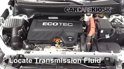 2018 Chevrolet Equinox LS 1.5L 4 Cyl. Turbo Transmission Fluid