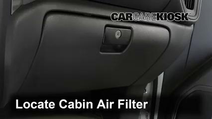 2019 Chevrolet Silverado 1500 Custom Trail Boss 4.3L V6 Crew Cab Pickup Air Filter (Cabin)