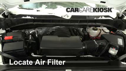 2019 Chevrolet Silverado 1500 Custom Trail Boss 4.3L V6 Crew Cab Pickup Air Filter (Engine)