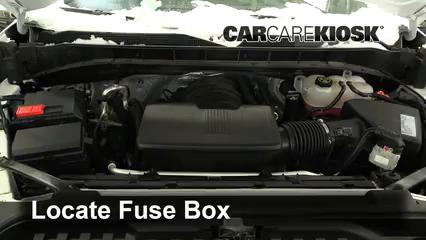 2019 Chevrolet Silverado 1500 Custom Trail Boss 4.3L V6 Crew Cab Pickup Fuse (Engine)