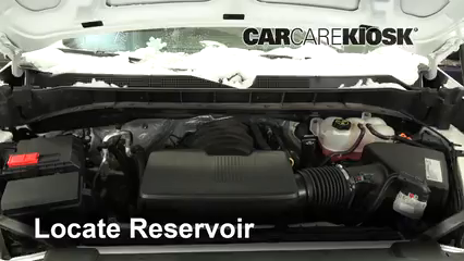 2019 Chevrolet Silverado 1500 Custom Trail Boss 4.3L V6 Crew Cab Pickup Windshield Washer Fluid