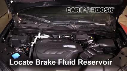 2019 Honda Passport Elite 3.5L V6 Brake Fluid Check Fluid Level