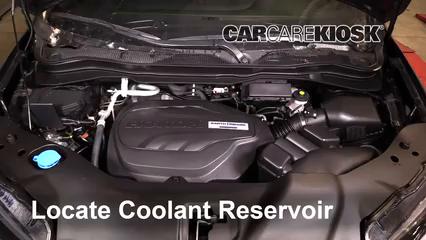 2019 Honda Passport Elite 3.5L V6 Fluid Leaks Coolant (Antifreeze) (fix leaks)