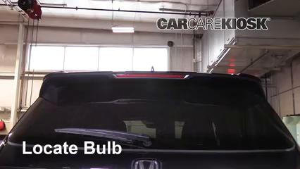2019 Honda Passport Elite 3.5L V6 Lights Center Brake Light (replace bulb)