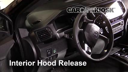 2019 Honda Passport Elite 3.5L V6 Capot