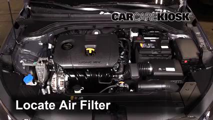 2019 Hyundai Elantra SE 2.0L 4 Cyl. Filtro de aire (motor)