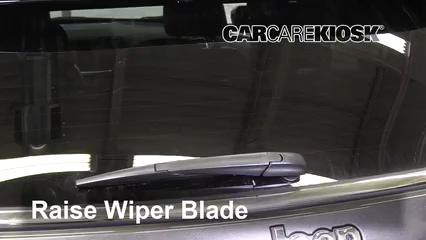 2019 Jeep Compass Limited 2.4L 4 Cyl. Windshield Wiper Blade (Rear)