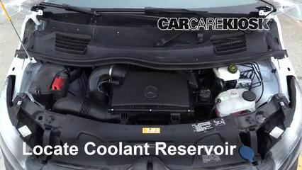 2019 Mercedes-Benz Metris 2.0L 4 Cyl. Turbo Mini Cargo Van Refrigerante (anticongelante) Sellar pérdidas