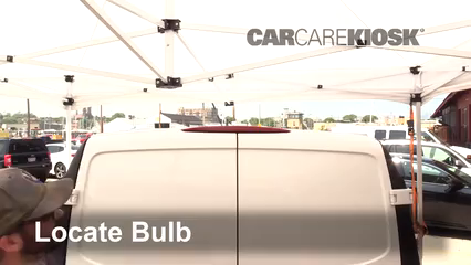 2019 Mercedes-Benz Metris 2.0L 4 Cyl. Turbo Mini Cargo Van Luces Luz de freno central (reemplazar foco)