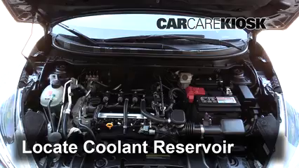 2019 Nissan Kicks S 1.6L 4 Cyl. Coolant (Antifreeze)