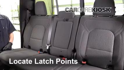 2019 Ram 1500 Big Horn 5.7L V8 Crew Cab Pickup Asientos de Carro Instalar