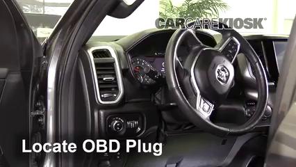 2019 Ram 1500 Big Horn 5.7L V8 Crew Cab Pickup Compruebe la luz del motor Diagnosticar