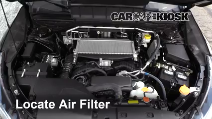 2019 Subaru Ascent Premium 2.4L 4 Cyl. Turbo Filtro de aire (motor) Cambio