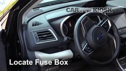 2019 Subaru Ascent Premium 2.4L 4 Cyl. Turbo Fusible (interior) Cambio