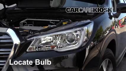 2019 Subaru Ascent Premium 2.4L 4 Cyl. Turbo Luces Luz de carretera (reemplazar foco)