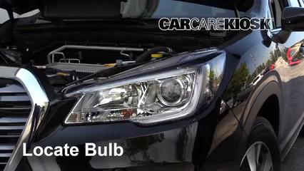 2019 Subaru Ascent Premium 2.4L 4 Cyl. Turbo Luces Faro delantero (reemplazar foco)