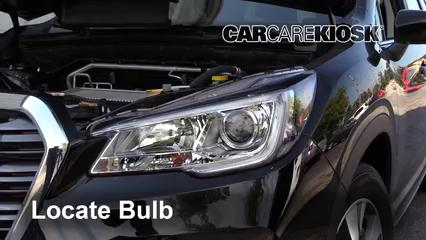 2019 Subaru Ascent Premium 2.4L 4 Cyl. Turbo Luces Luz de estacionamiento (reemplazar foco)