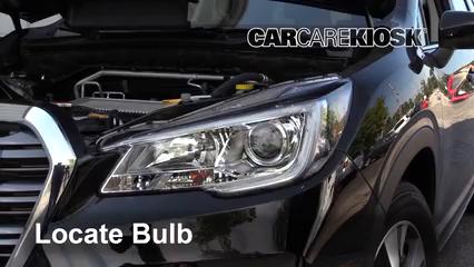 2019 Subaru Ascent Premium 2.4L 4 Cyl. Turbo Luces Luz de giro delantera (reemplazar foco)