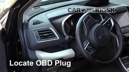 2019 Subaru Ascent Premium 2.4L 4 Cyl. Turbo Compruebe la luz del motor