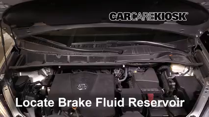 2019 Toyota Sienna XLE 3.5L V6 Brake Fluid
