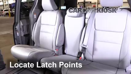2019 Toyota Sienna XLE 3.5L V6 Car Seats