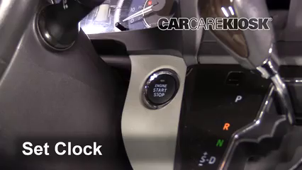 2019 Toyota Sienna XLE 3.5L V6 Clock