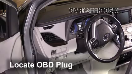 2019 Toyota Sienna XLE 3.5L V6 Check Engine Light